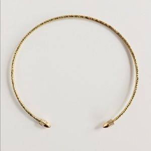 Brilliant Sparkly Crystal Open Choker